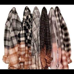 Custom vintage flannel